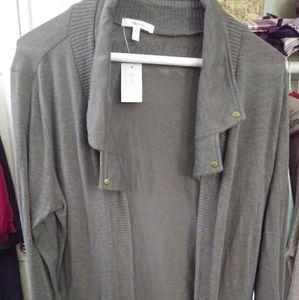 Nwt Maurices grey cardigan